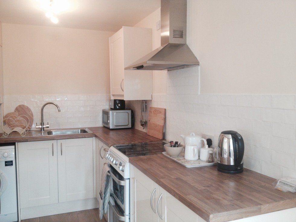 Carriage Cottage kitchen with gas oven, large fridge freezer